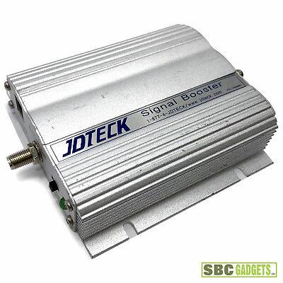 JDTECK CB819 3 Watt Direct Connect Cell Phone Signal Booster - SHIPS SAME DAY! 3 Watt Booster