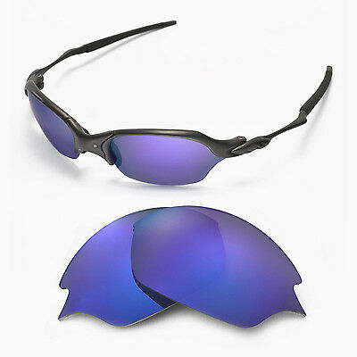 707841a243 New Walleva Polarized Purple Replacement Lenses For Oakley Romeo 2.0  Sunglasses