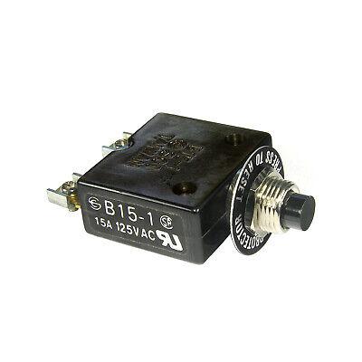 15a 125vac Circuit Breaker B15-1 Sci