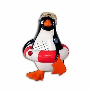 Large Penguin Shower Bathroom Radio FM MW Water Resistant With Suction Grip NEW