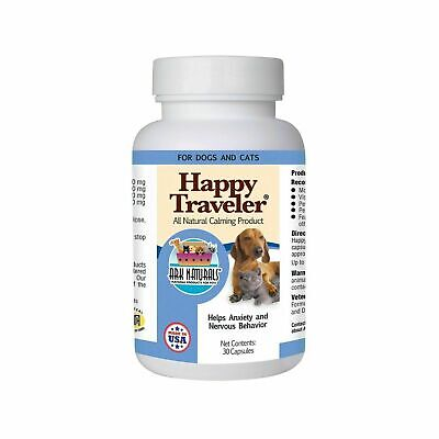 Ark Naturals Happy Traveler 30с Natural Calming for Dogs and (Ark Naturals Happy Traveler)
