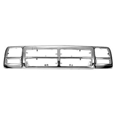 New Premium Fit Grille Shell Pp Fits Dodge 83506568Ab