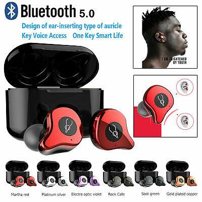 Sabbat E12 Professional Wireless Headset BT 5.0 Stereo Earbuds Headphone Headset
