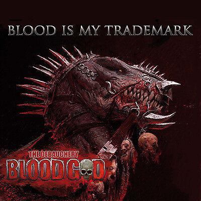 The Debauchery BLOOD GOD Blood Is My Trademark - Red Vinyl Gatefold-LP  - 300864