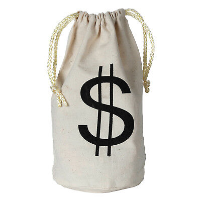 MONEY BAG $$$ Loot Heist Jackpot CASINO Gangster Birthday Party Favor Bag](Jackpot Casino Parties)