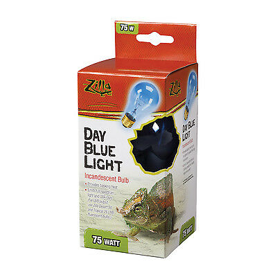 ZILLA REPTILE DAY LIGHT BLUE HEAT LAMP BULB - 75 WATT