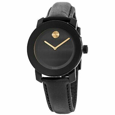 Movado 3600480 Men's Bold Black Quartz Watch