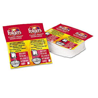 Folgers Coffee Premeasured Packs Classic Roast Regular 1 05Oz Vacket Pack 42