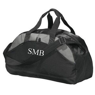 Kids Personalized Duffle Bags (Monogrammed Kids Sports Duffel Bag Personalized Name Duffel for Groomsmen)