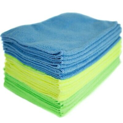 Zwipes Microfiber Cleaning Cloths (24-Pack) Best for Kitchen Cleaning, Car,