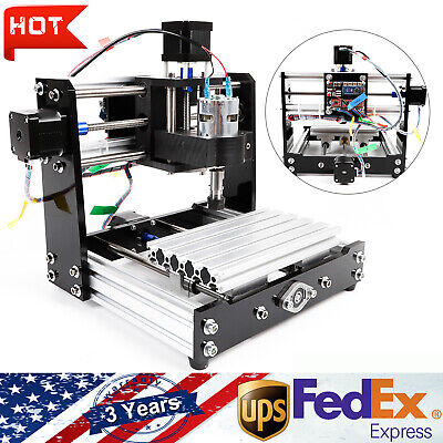 3 Axis Cnc Router Engraver Engraving Cutting Pvc 1018 Wood Pcb Carving Machine