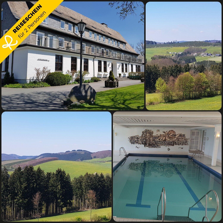3 Tage 2P 4★ Hotel Schmallenberg Sauerland Winterberg Kurzurlaub Hotelgutschein