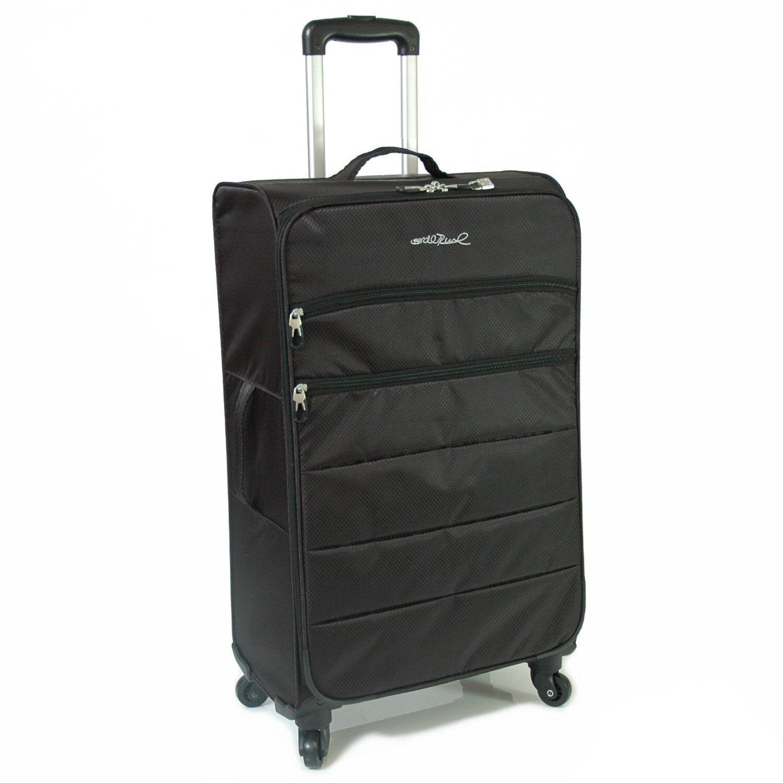 lightweight suitcases ebay. Black Bedroom Furniture Sets. Home Design Ideas