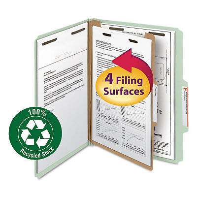 Smead Classification Folder One Divider 2