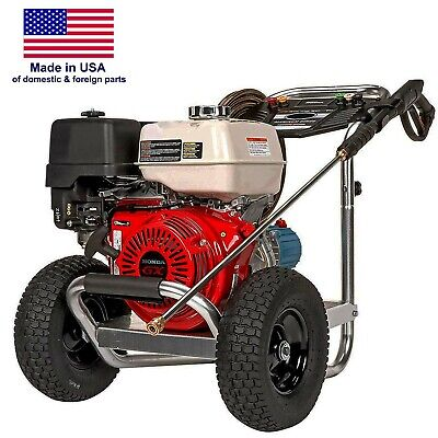 Gas Pressure Washer - Cold Water - 3400 Psi - 2.5 Gpm - 6.5 Hp - Direct Drive
