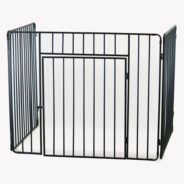 Inglenook Baby Safety Stove Heavy Fire Guard Screen Fireside ...
