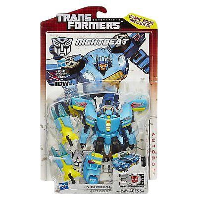 2014 Transformers Generations 30th NIGHTBEAT IDW Comic series MIB