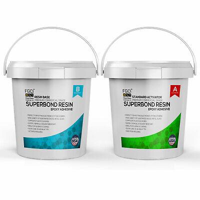 Epoxy Superbond Resin 2 Gallon Kit Slow Cure Includes Part A B 135361
