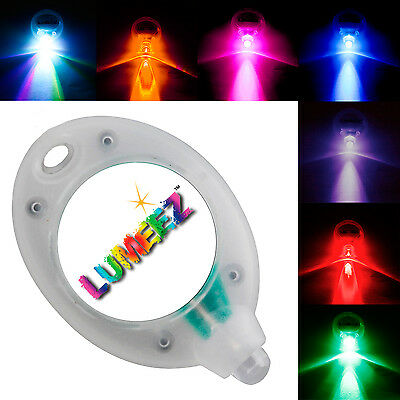 2 x Genuine Lumeez® LED Lights Illumination for Ice Skates Skateboards Scooters