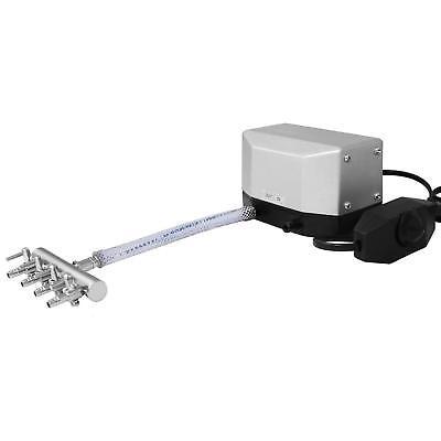 VIVOSUN 285 GPH 4 Outlets Adjustable Air Pump for Fish Aquarium Hydroponics 9.5W