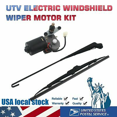 UTV Electric Windshield Wiper Motor Kit tank for Polaris Ranger RZR 900 US