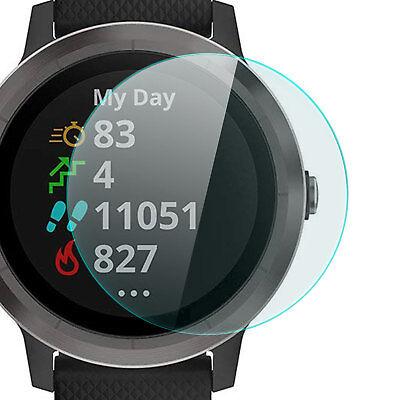 Display Schutz Glas für Garmin Vivo Active 3 - Folie Schutzpanzer Glasfolie 9H