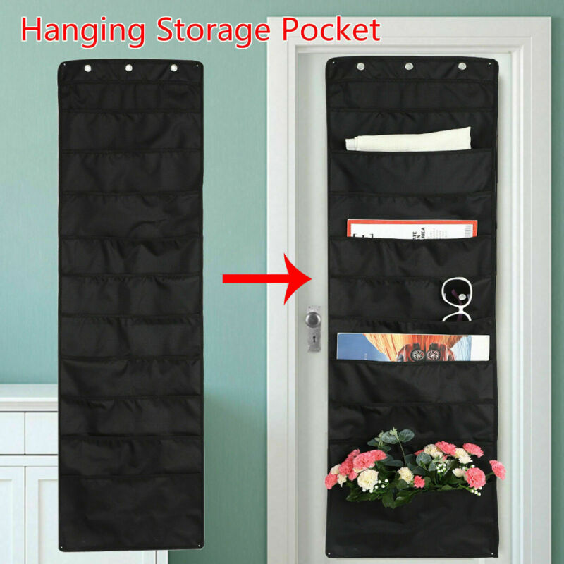 10 Storage Pocket Wall File Organizer Door Classroom Office Hanging Paper Holder