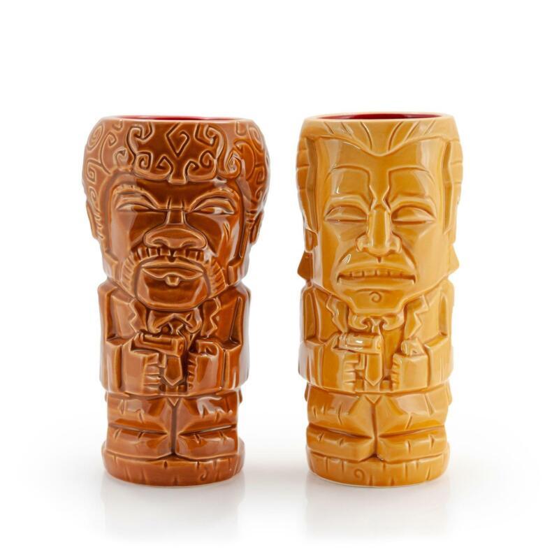 Geeki Tikis Pulp Fiction Vincent Vega & Jules Winnfield Mugs | Ceramic Tiki Cups