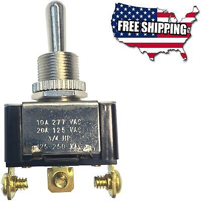 Heavy Duty Toggle Switch Electrical Spdt Mom On-offmom-on 20 A125v Ac