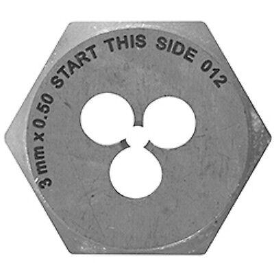Vermont American 8 mm -1.00 High Carbon Steel Metric Hex Die -