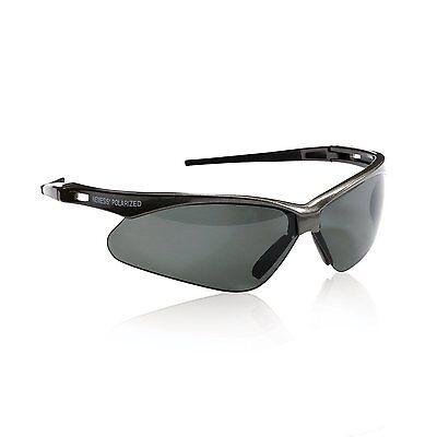 Jackson Nemesis V30 Polarized 3023625 Gun Metal Safety Glasses Smoke Lens 28635