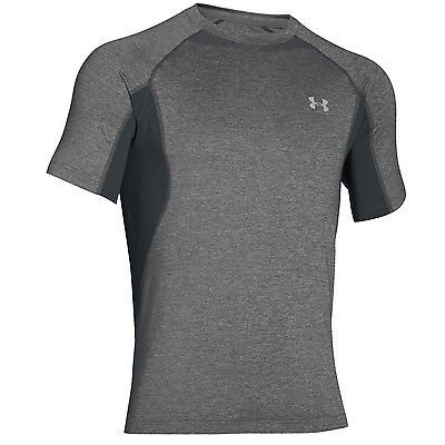 Under Armour Mens 2016 Granite Ua Cool Switch Trail Short Sleeve Shirt