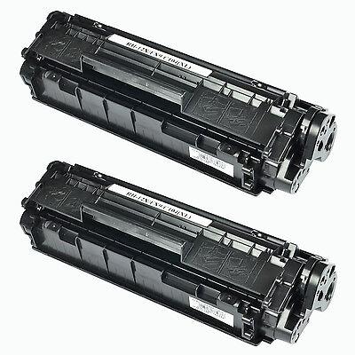 2PK Q2612A 12A Toner Cartridge BLK For HP LaserJet 1010 1012 1015 1018 1020 1022