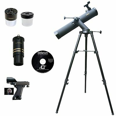 Galileo 800x80mm Astronomical Reflector Compress Kit,Black Granite G-80080TR