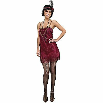 1920's Vintage Style Jazz Diva Fringed Flapper Dress Women's Costume - Jazz Diva Kostüm
