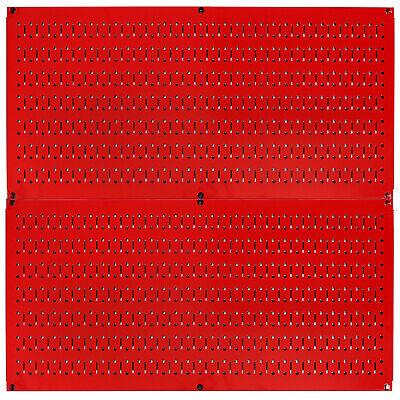 Wall Control Pegboard Rack Home Garage Tool Storage Organization Metal Pegboard