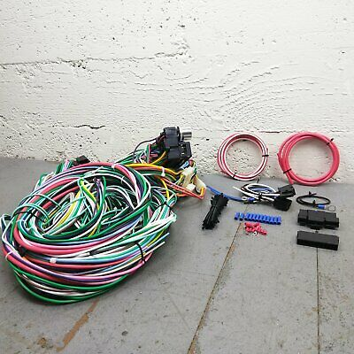 1991 - 1996 Chevrolet Caprice Wire Harness Upgrade Kit fits painless fuse block