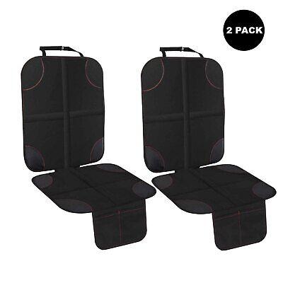 शिशु कार सीट रक्षक के लिए 2 पैक बाल बच्चे ऑटो पनरोक काले कवर