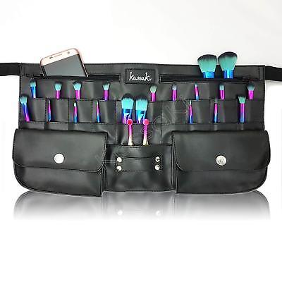 Professional Makeup Brush Bag Black