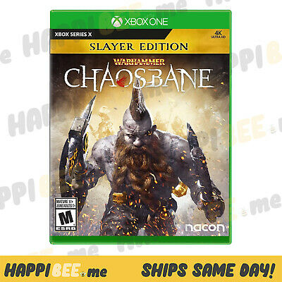 XBOX Series X•WARHAMMER:CHAOSBANE-SLAYER EDITION🍯Video Game Console System[NEW]