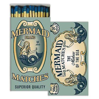 HomArt - Match Box Set of 2 - Mermaid Brand - Blue