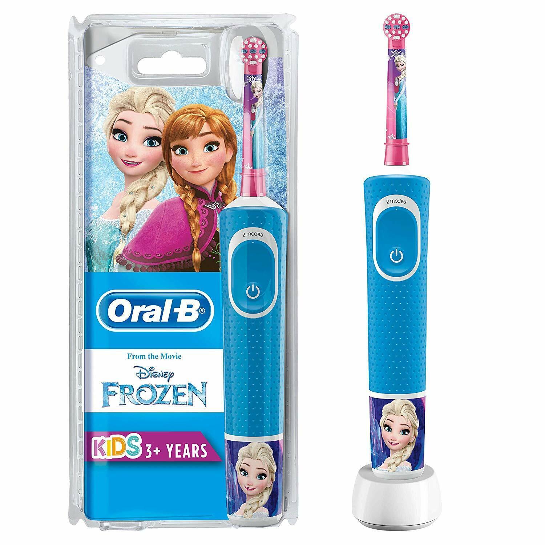 Oral-B Kids Frozen Elektrische Zahnbürste integrierter Timer Kinder ab 3 Jahren