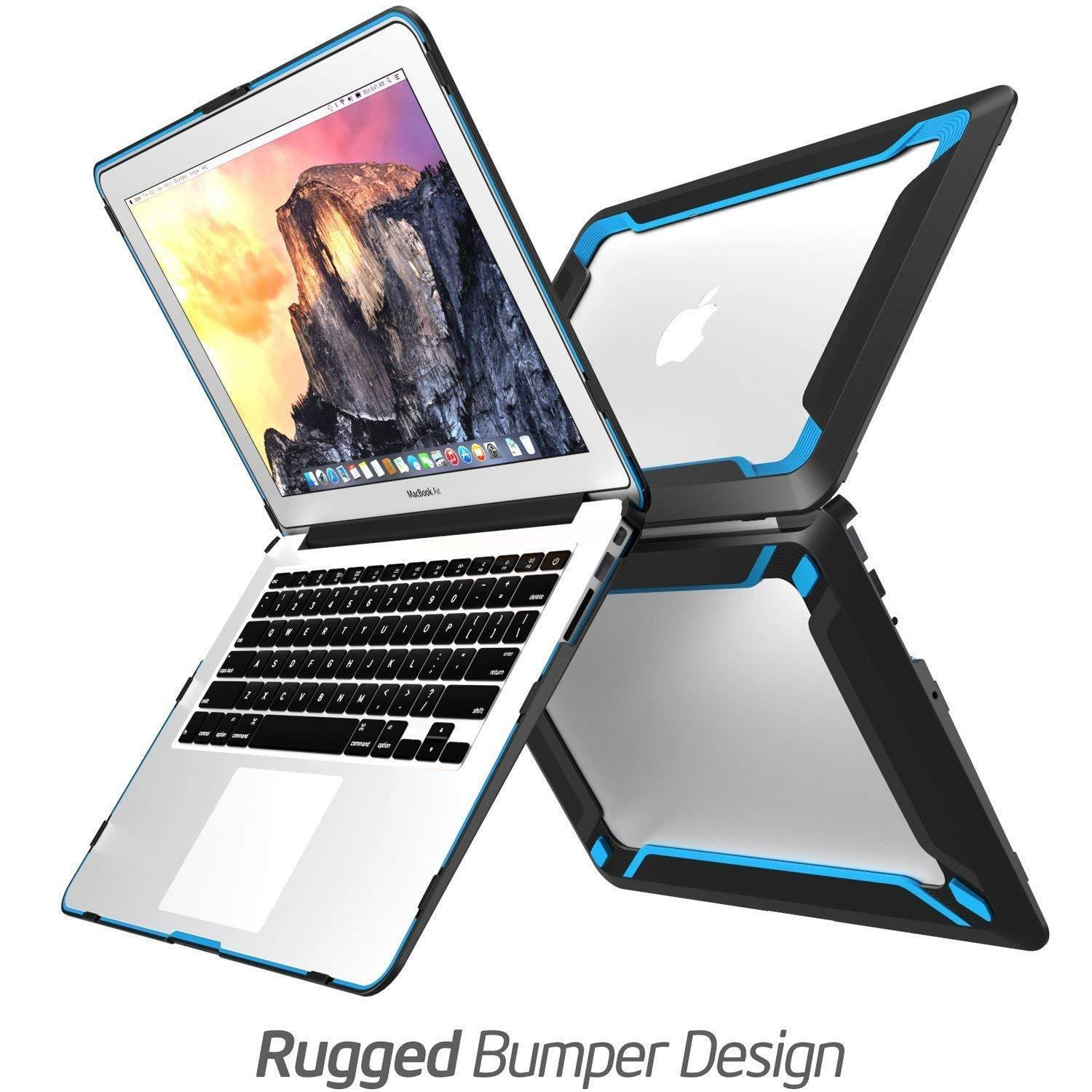 как выглядит Сумка или чехол для ноутбука Macbook Air 13 Case, NexCase Heavy Duty Dual Layer Hard TPU Bumper Case Cover US фото