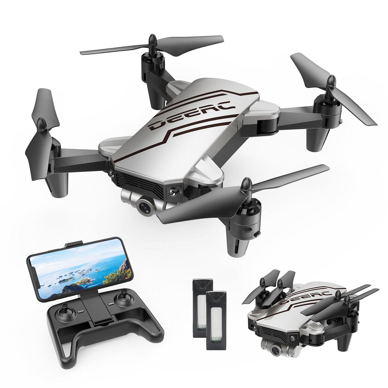 DEERC D20 RC Mini Drohne mit Kamera HD 720P FPV Quadcopter für Kinder Anfänger