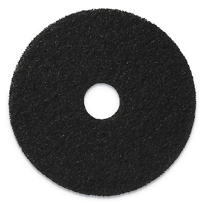 "Americo Stripping Pads, 20"" Diameter, Black, 5/CT 400120"