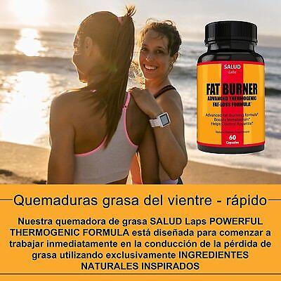 Quemador de grasa del vientre abdominal, tratamiento suplemento para bajar de... 4