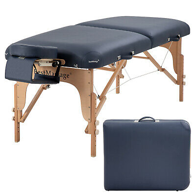 Massage Table, Portable Massage Tables, 84 Inches Long 30 Inchs Wide Height Health & Beauty