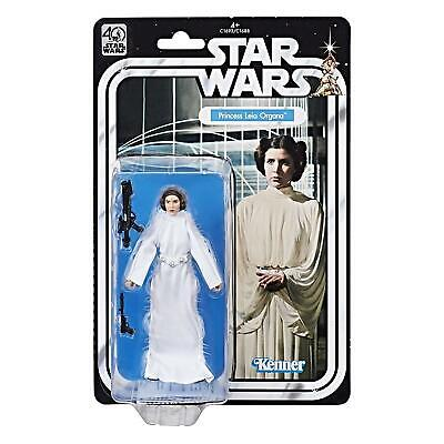 STAR WARS Princess Leia Organa Black Series 40th Anniversary Figure