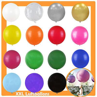tballon 1x / 5x Hochzeit Party Deko Geburtstag groß Ballon (Große Ballon)