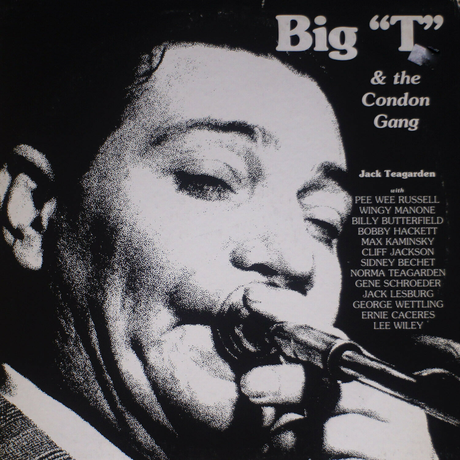 JACK TEAGARDEN / Big T And The Condon Gang NM/EX 0452 LP Vinyl - $13.00